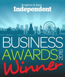 Turn Beautiful Brighton and Hove Independent Business Awards Winner