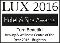 Turn Beautiful Lux Hotel & Spa Winners Logo