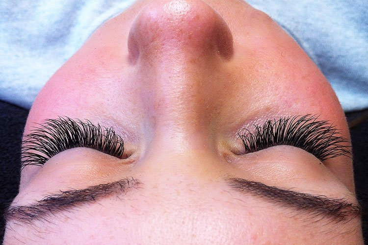 Eyelash Extensions Example After