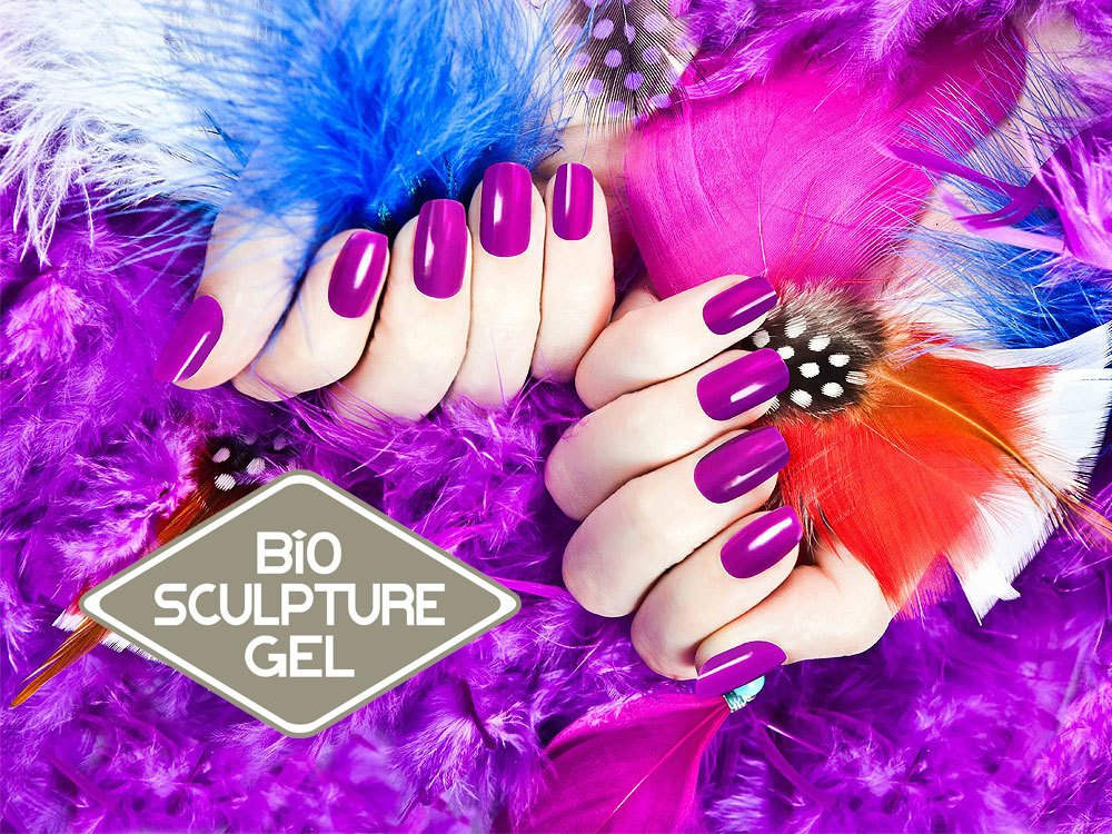 Bio sculpture gel nails turn beautiful