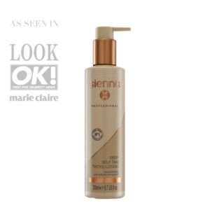 Sienna X Deep Self Tan Tinted Lotion Brighton