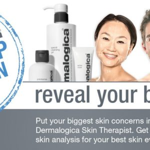 Dermalogica face mapping, face map our nation