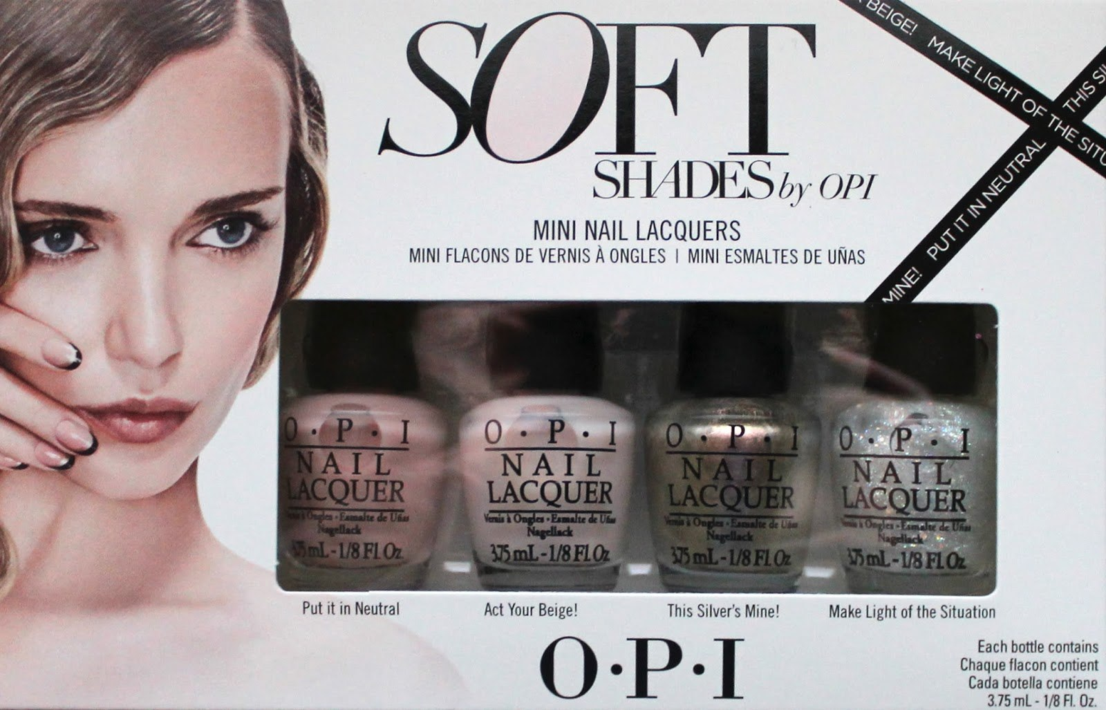 OPI Nail Polish Mini Kit - Soft Shades | Turn Beautiful