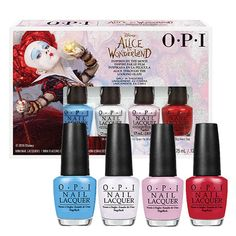 OPI Alice In Wonderland Nail Varnish Collection Kit