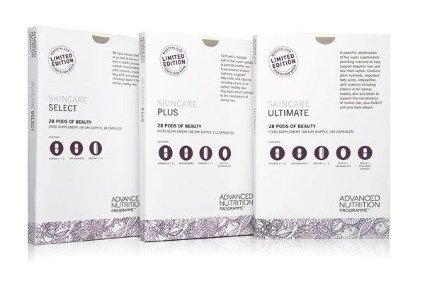 Advanced Nutrition Skincare Supplements Boxes Brighton