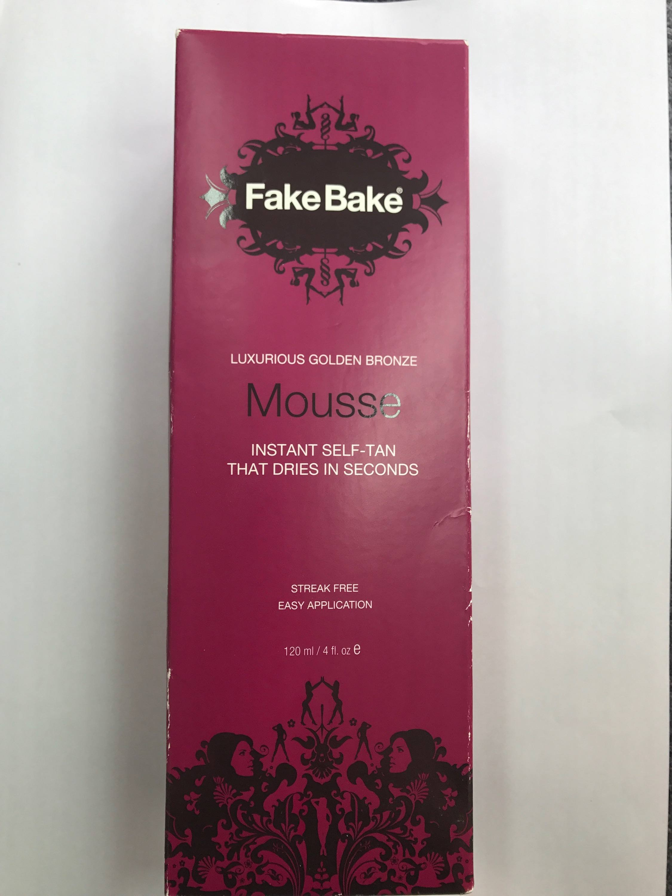 Fake Bake Luxurious Golden Bronze Mousse Brighton