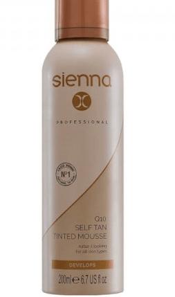 Sienna X Self Tan Tinted Mousse Brighton