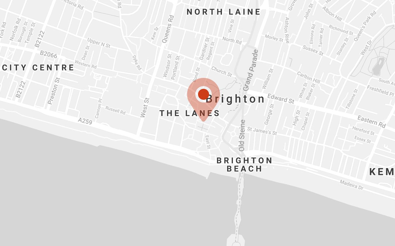 Turn Beautiful Location Map