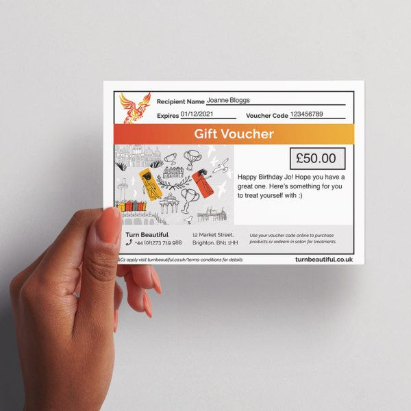 Turn Beautiful Gift Voucher