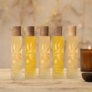 Green & Gold Body Oils