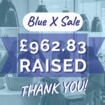 Blue X Sale 2020 £962.83 Raised For Maggie's Thank You