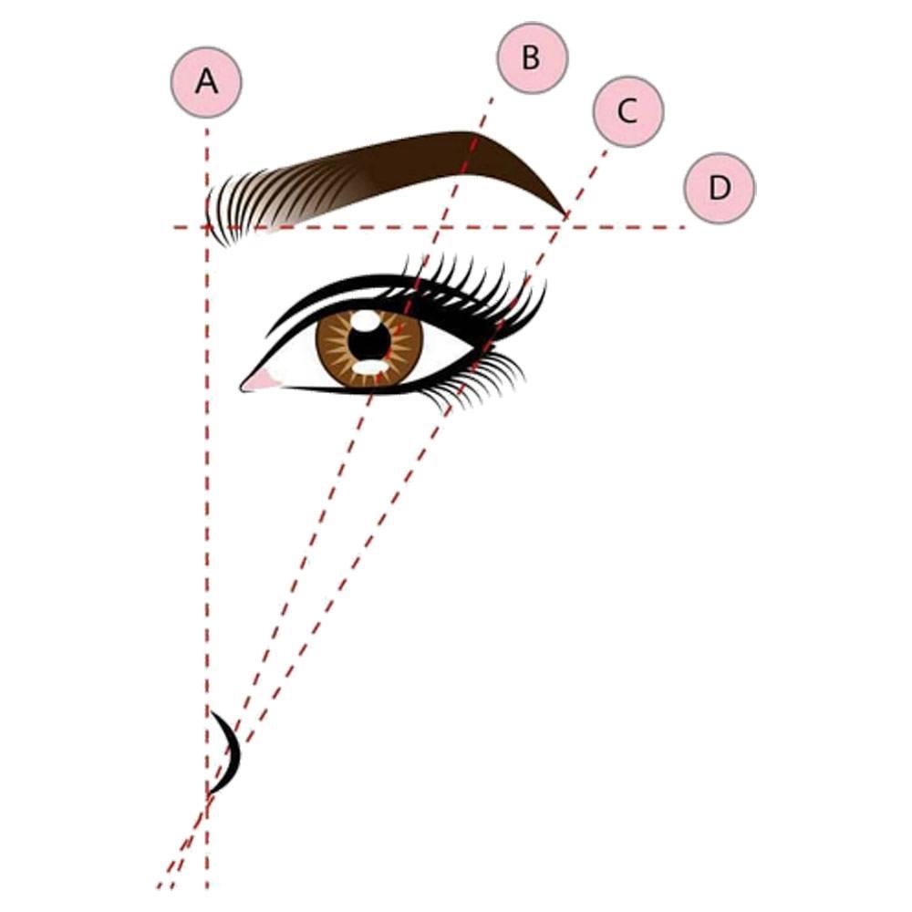 Eyebrow Shape Ratio   Hair Removal At Home
