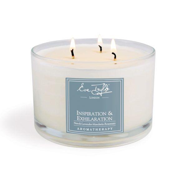 Inspiration & Exhilaration 3 Wick AromaWax Candle